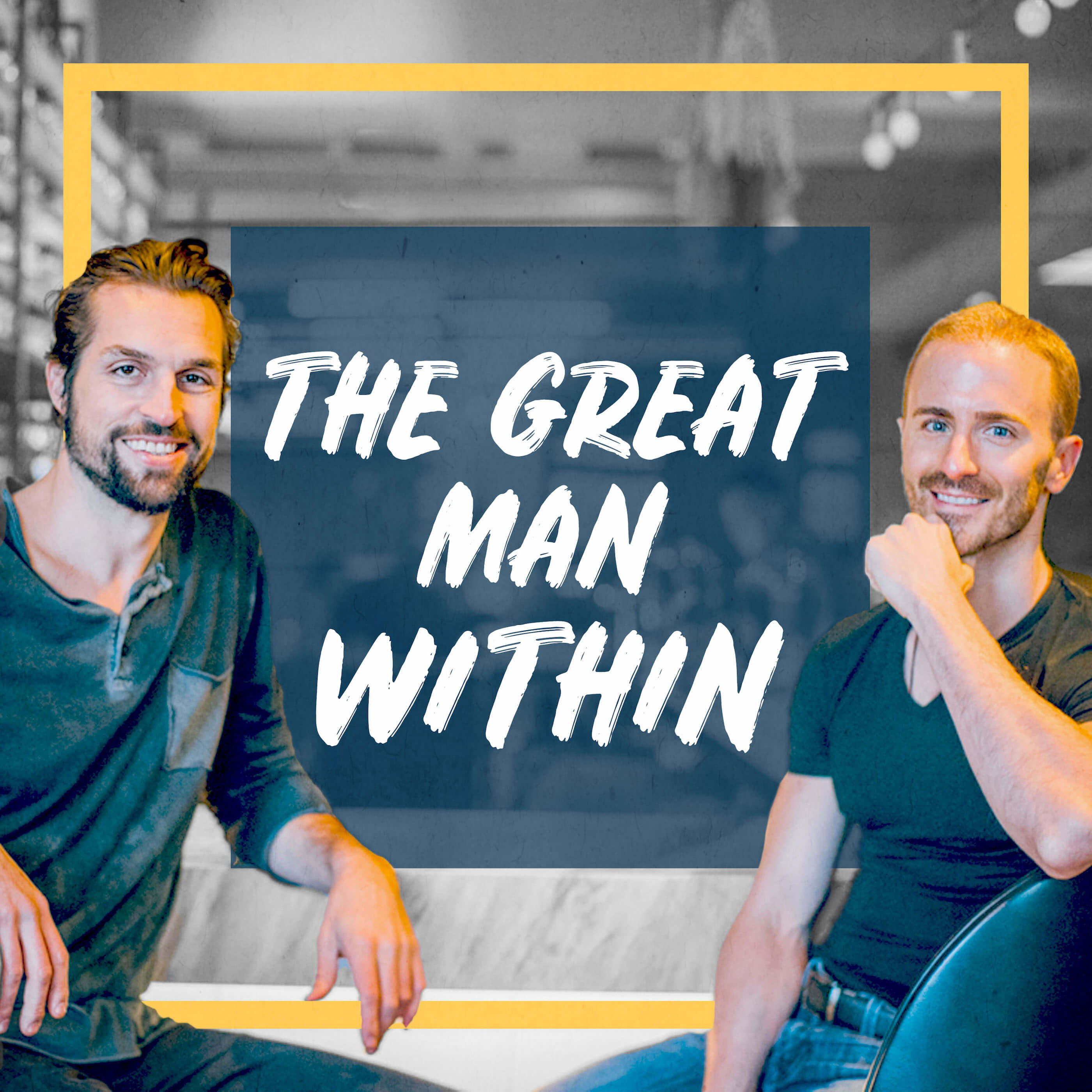The Great Man Within show art