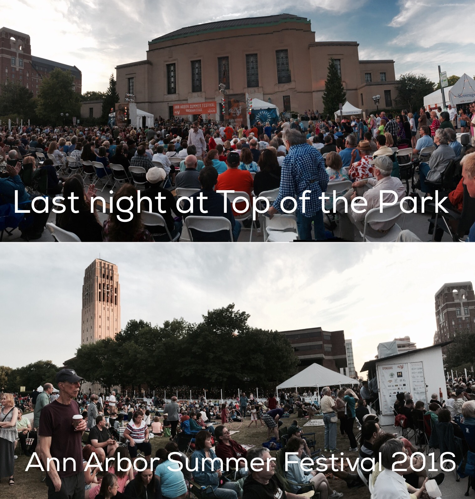 Top of the Park Wraps Up - Ann Arbor Summer Festival 2016