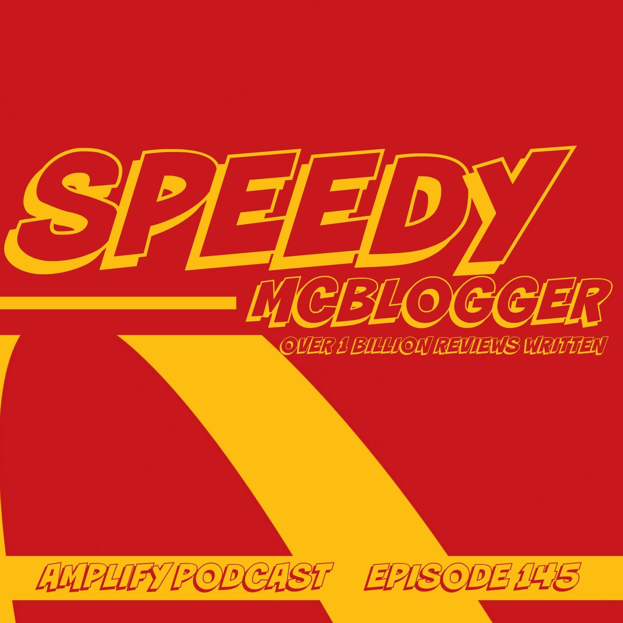 Speedy McBlogger