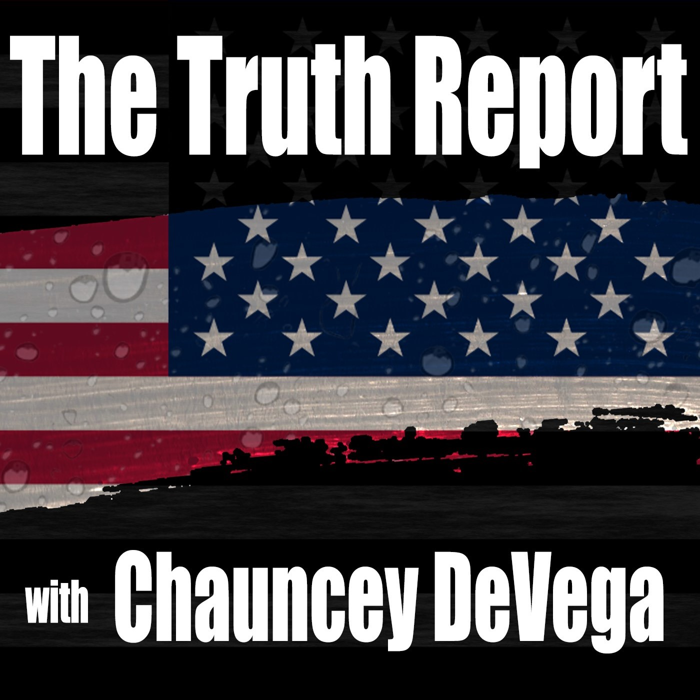 The Truth Report with Chauncey DeVega show art