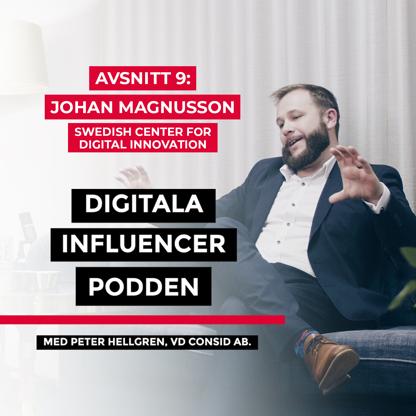 "9. Johan Magnusson, Swedish Center for Digital Innovation – ""blockchain har potential att bli minst lika omtumlande som internet"" 