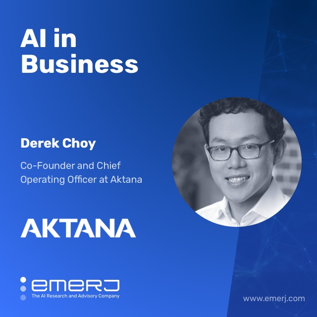 AI for Sales Enablement in Pharma - with Derek Choy of Aktana show art