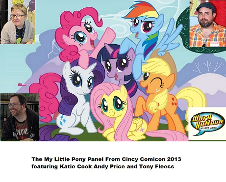 Word Balloon Podcast My Little Pony Panel Cincy Comicon w Cook Price & Fleecs