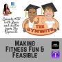 """Artwork for 132: """"Making Fitness Fun and Feasible"""" with Ryan and Justin from the Gym Wits Podcast 