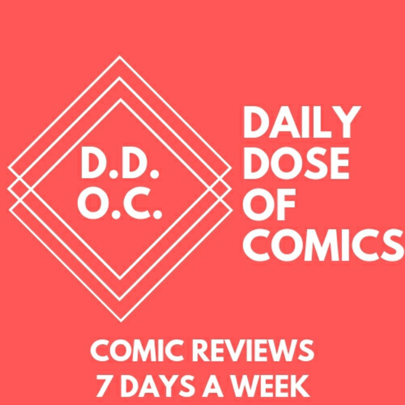 DDOC #185: Top 5 MARVEL an DC Books for March 18th, 2020