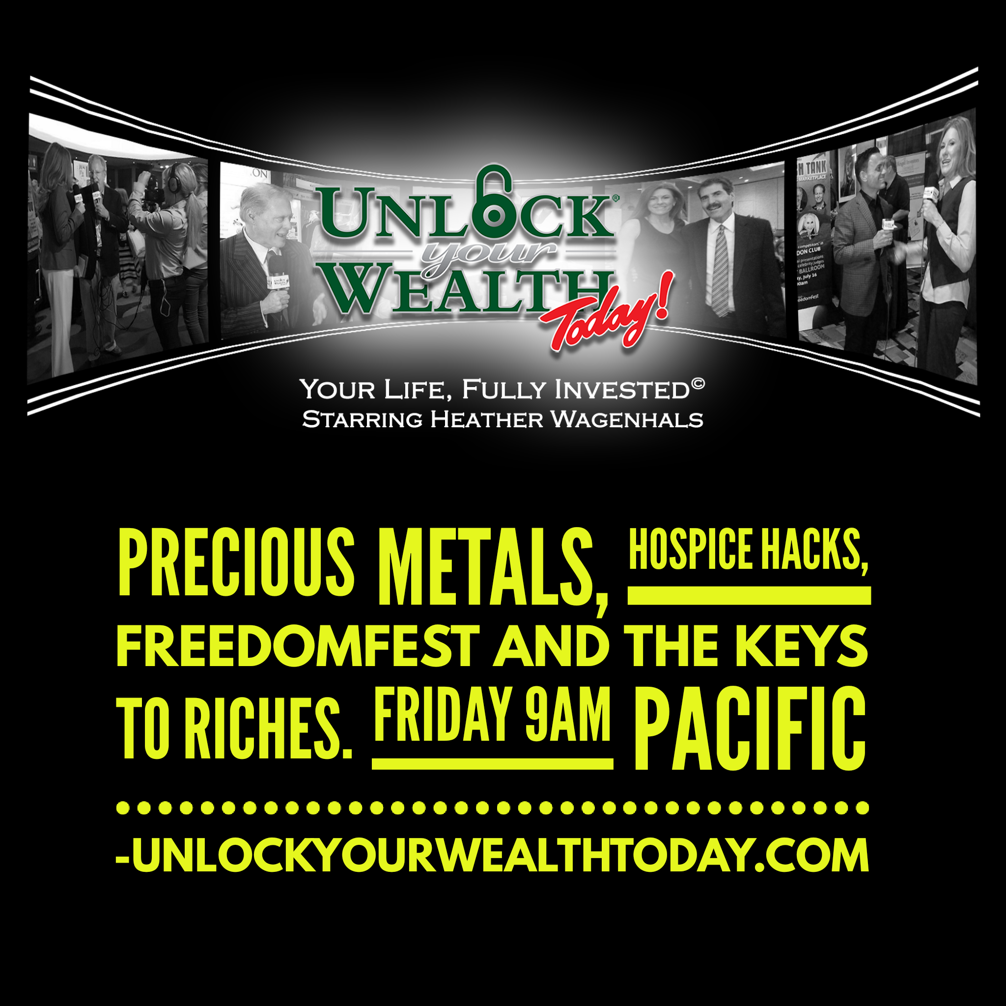 Artwork for Precious metals, hospice hacks, FreedomFest, and theKeys to Riches© Financial Philosophy