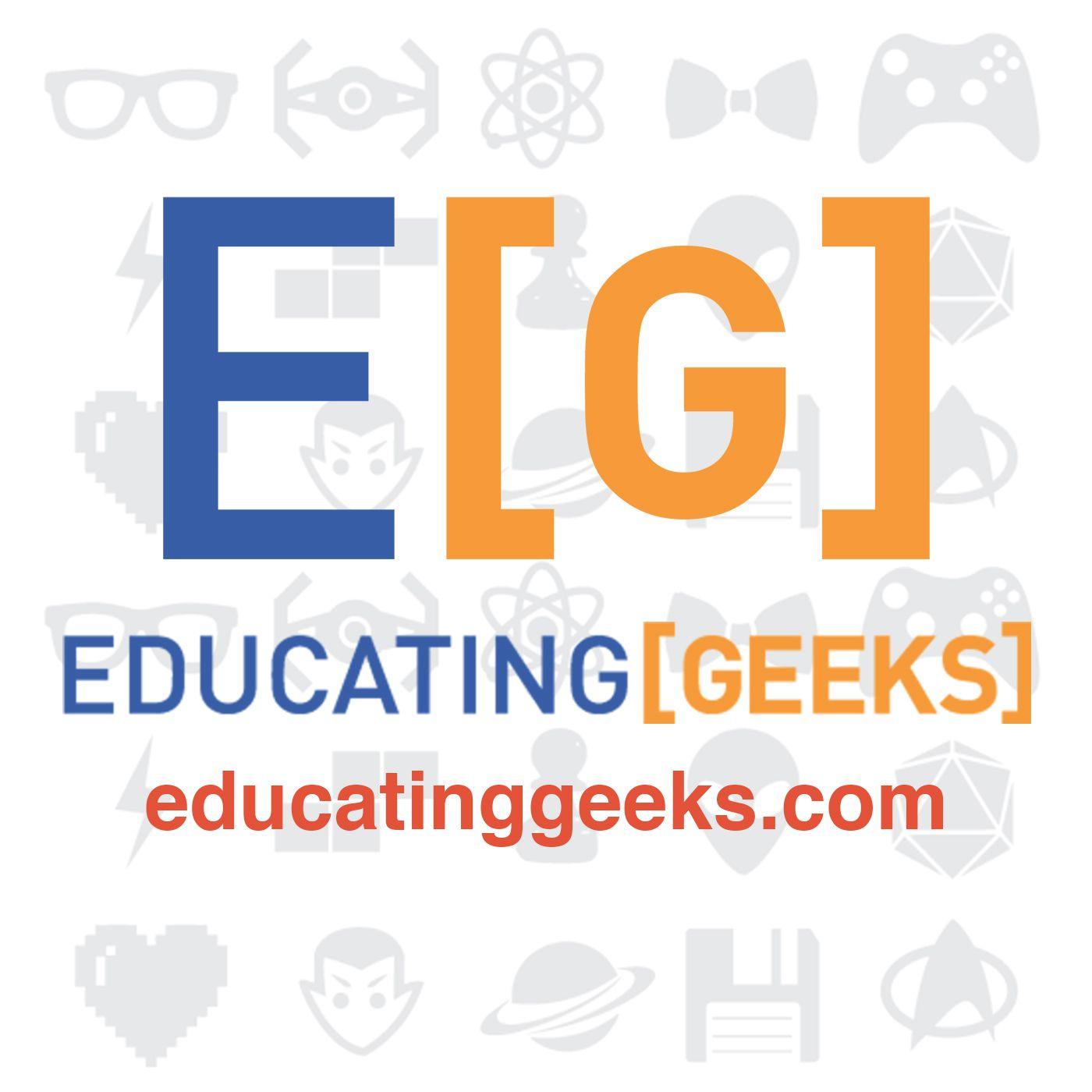 Educating Geeks show art