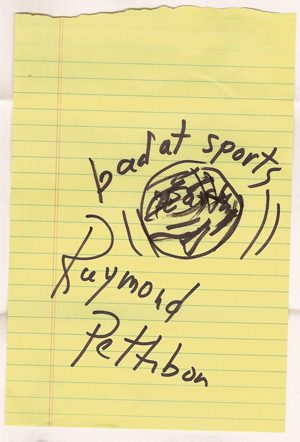 Bad at Sports Episode 36: Raymond Pettibon