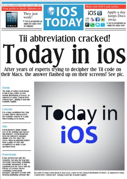 iOS Artwork - iTem 0266 and Transcript