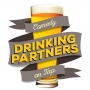Artwork for Drinking Partners #124 - PK Delay and Jacob Finch