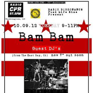 10-9-12 Punk Life Zine presents: Bam!Bam!