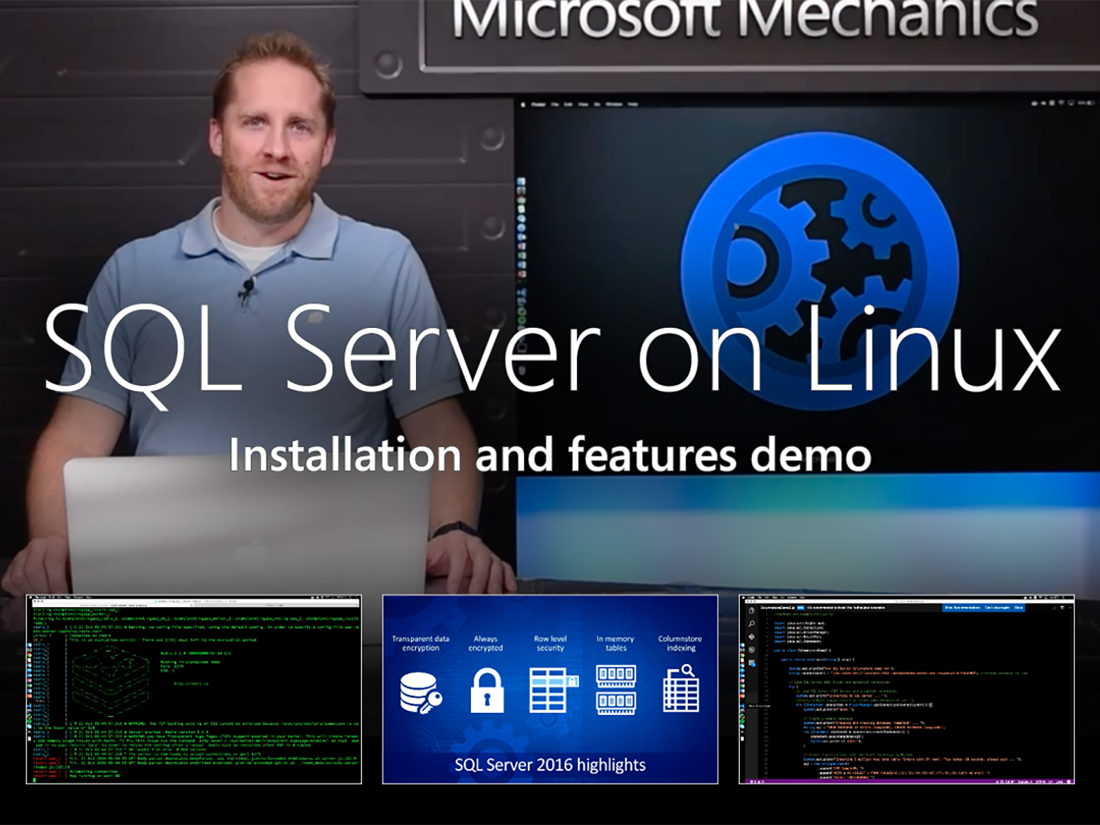 Artwork for Introducing SQL Server on Linux