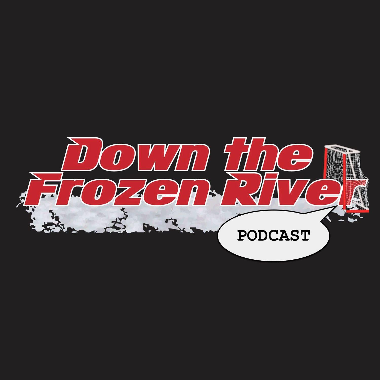 Down the Frozen River show art