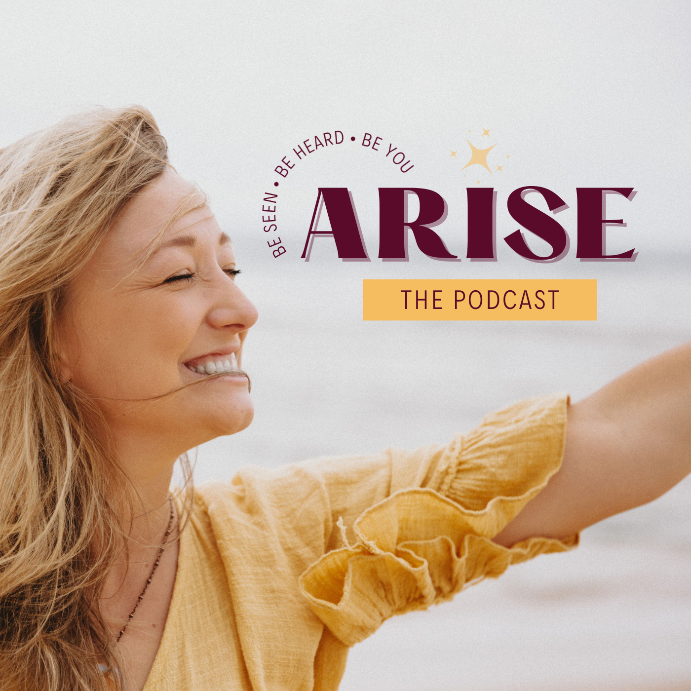 ARISE The Podcast show art