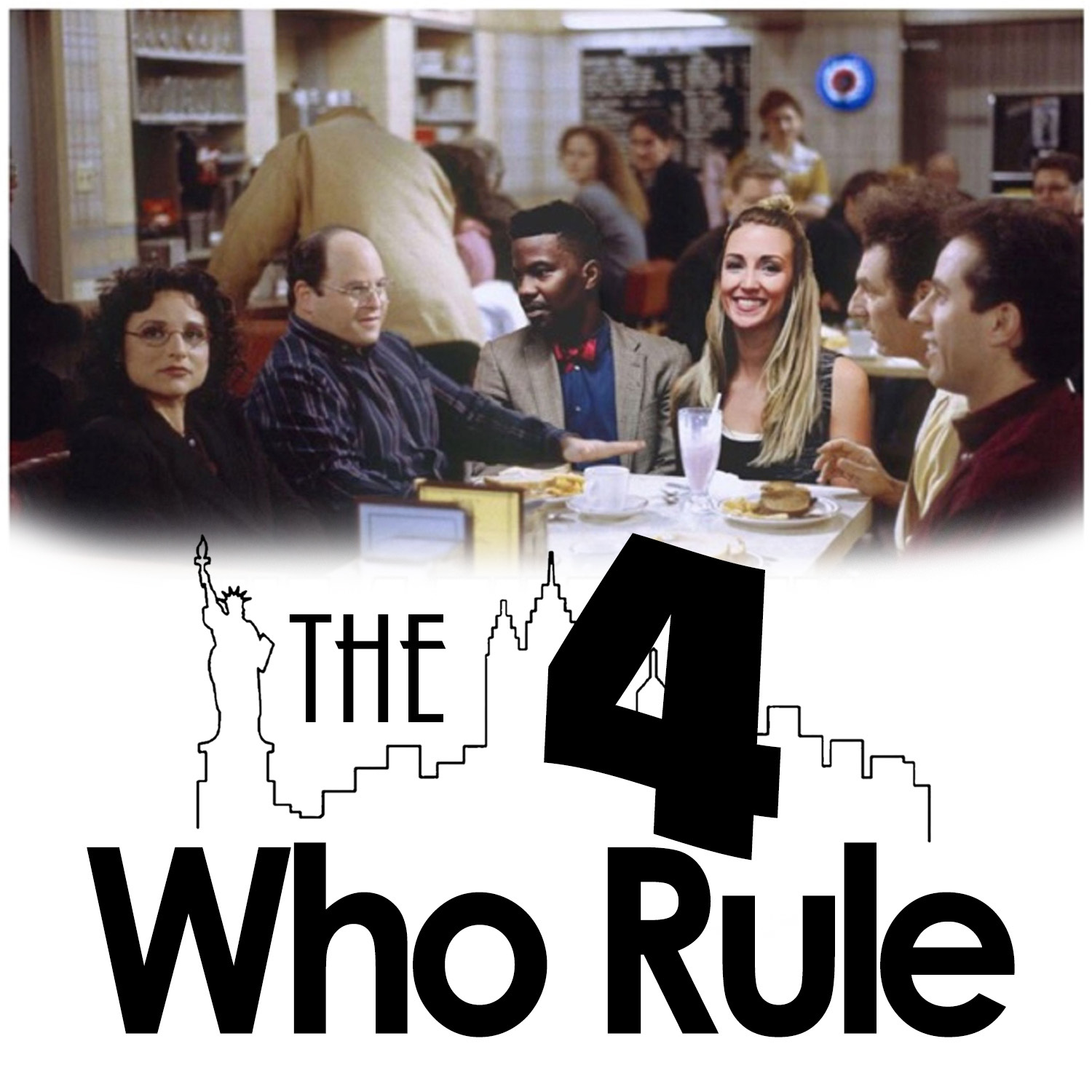 The Four Who Rule: A Seinfeld Podcast show art
