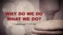 Artwork for Why Do We Do What We Do? (Pastor Bobby Lewis Jr)