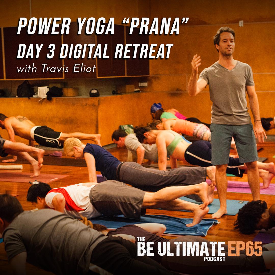 "Artwork for Power Yoga ""Prana"" l Day 3 Digital Retreat"