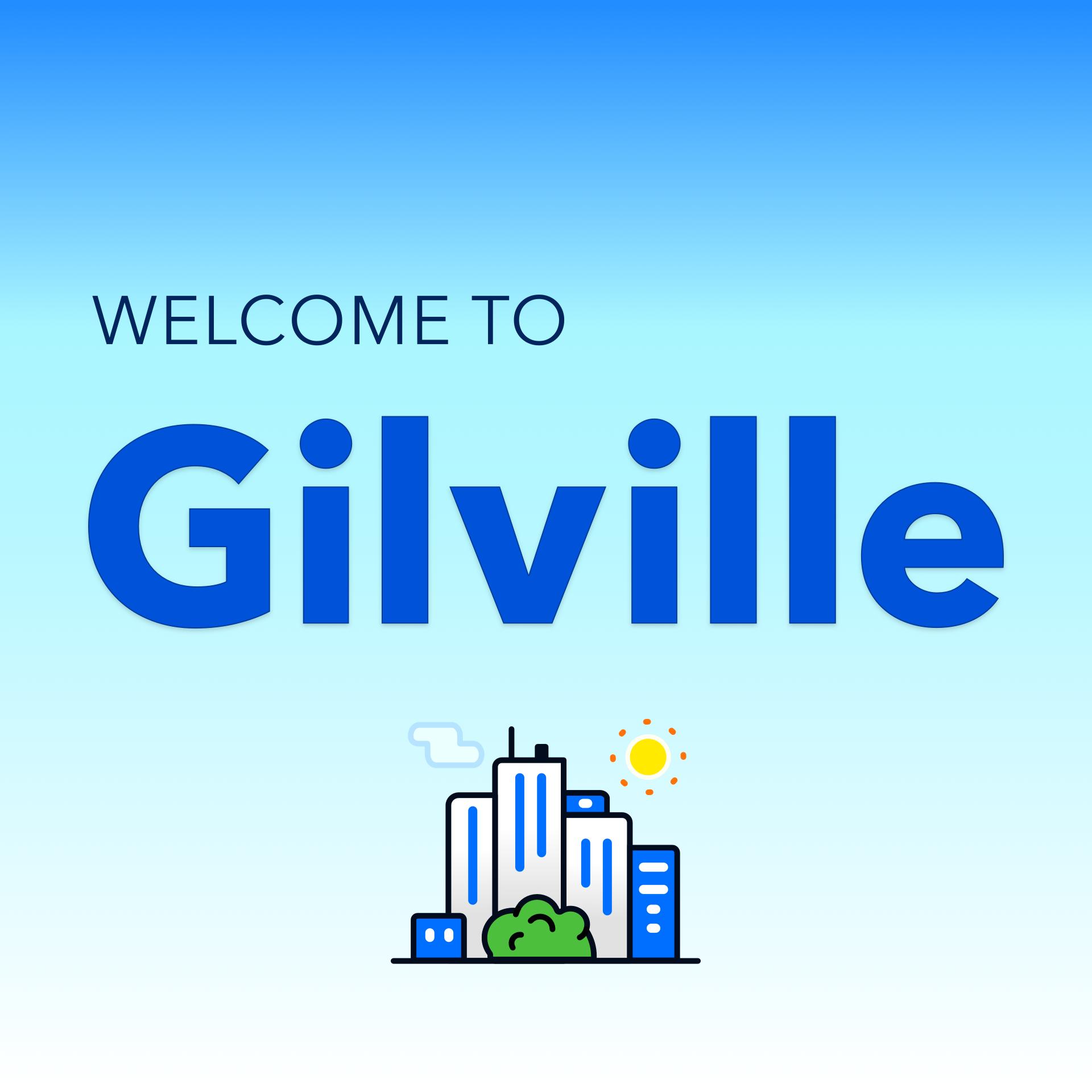 Gilville show art
