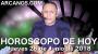 Artwork for HOROSCOPO DE HOY ARCANOS Jueves 28 de Junio de 2018