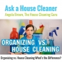 Artwork for Organizing vs. House Cleaning