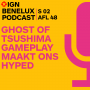 Artwork for IGN Benelux Podcast: Ghost of Tsushima Gameplay maakt ons hyped
