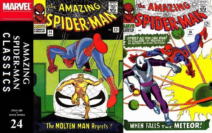 024 ASM Classics - Amazing Spider-Man 35 and 36