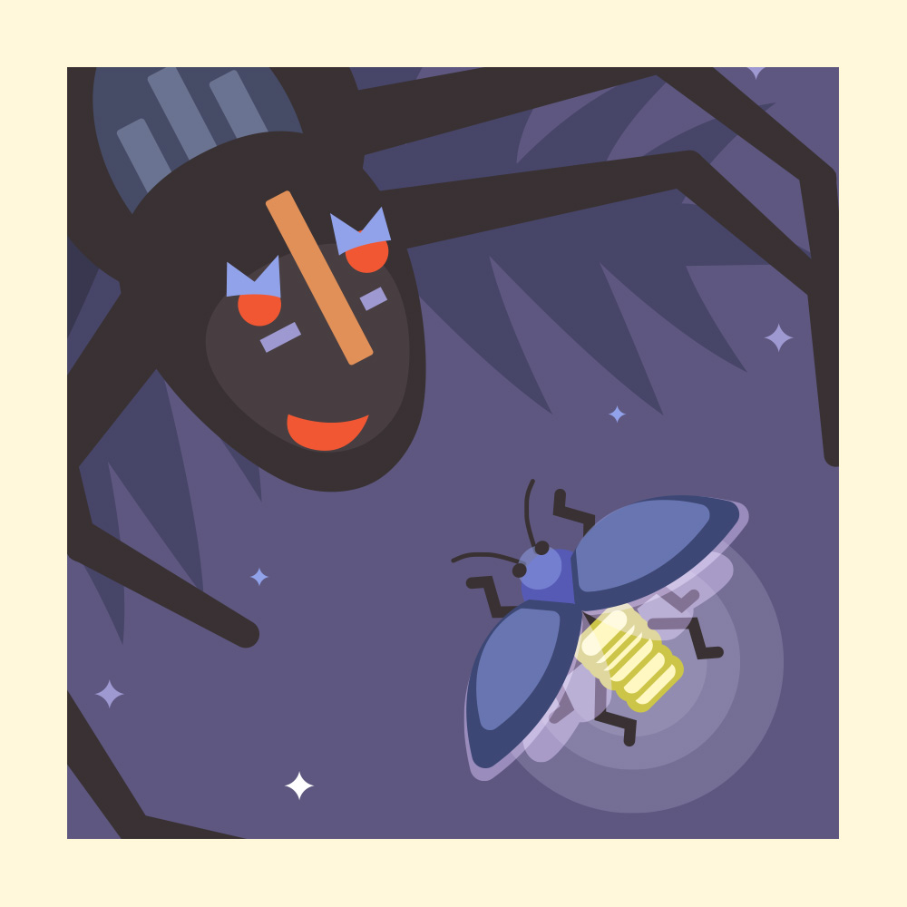 A Trickster Tale from West Africa- Storytelling Podcast for Kids - Anansi and Firefly:E50