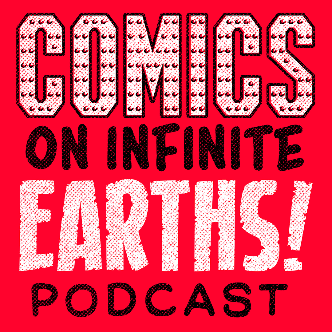 Artwork for Comics on Infinite Earths-The Blade Trilogy & Comic-Con trailer discussion