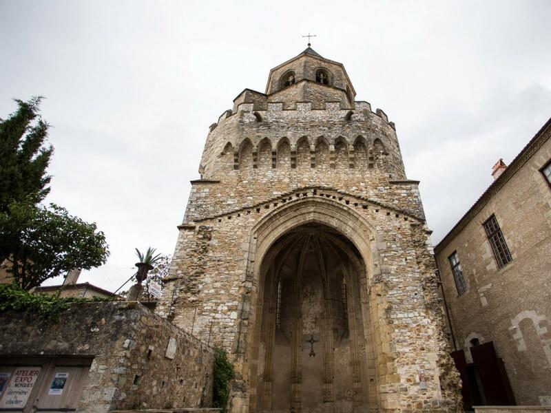 Remnant of Abbey in Sorèze