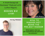 Artwork for 264: Design Biz Live: How to Manage Not Being the Project Manager