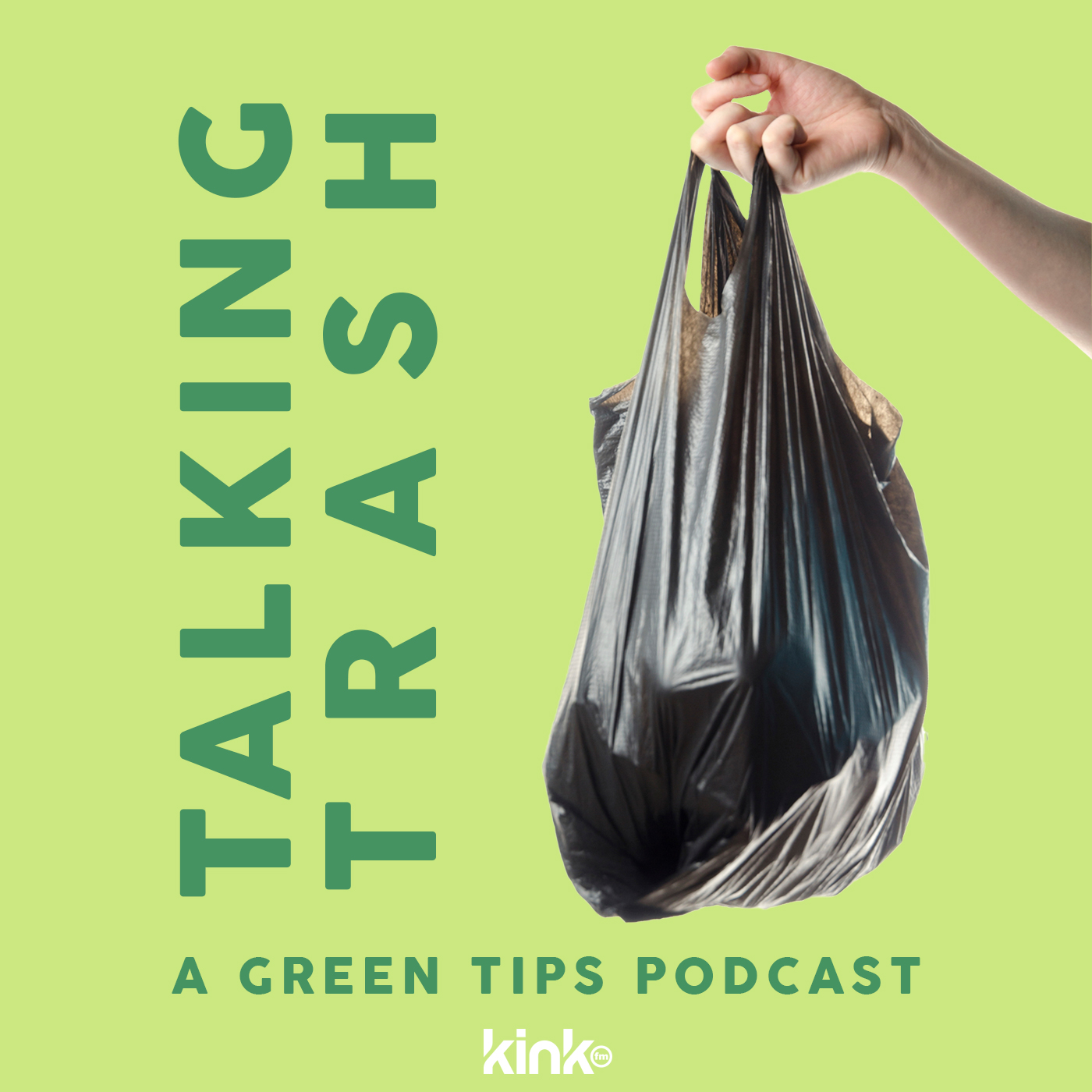 Talking Trash: A Green Tips Podcast show art