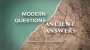 Artwork for MODERN PROBLEMS/ANCIENT ANSWERS | Righteous Live By Faith