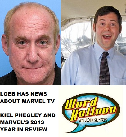 Marvel Television Update With Jeph Loeb and The 2012 Comics Market pt 2 with Kiel Phegley