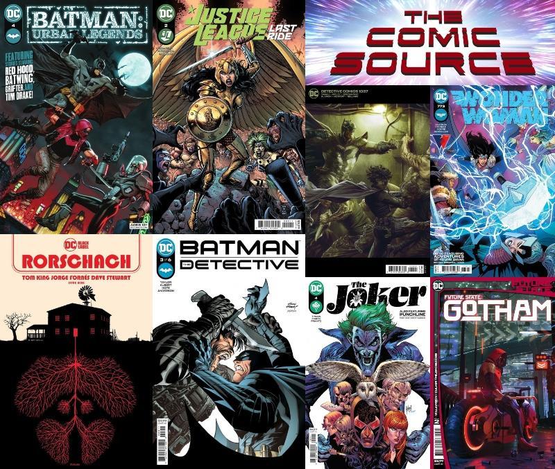 DC Spotlight June 8, 2021 Releases