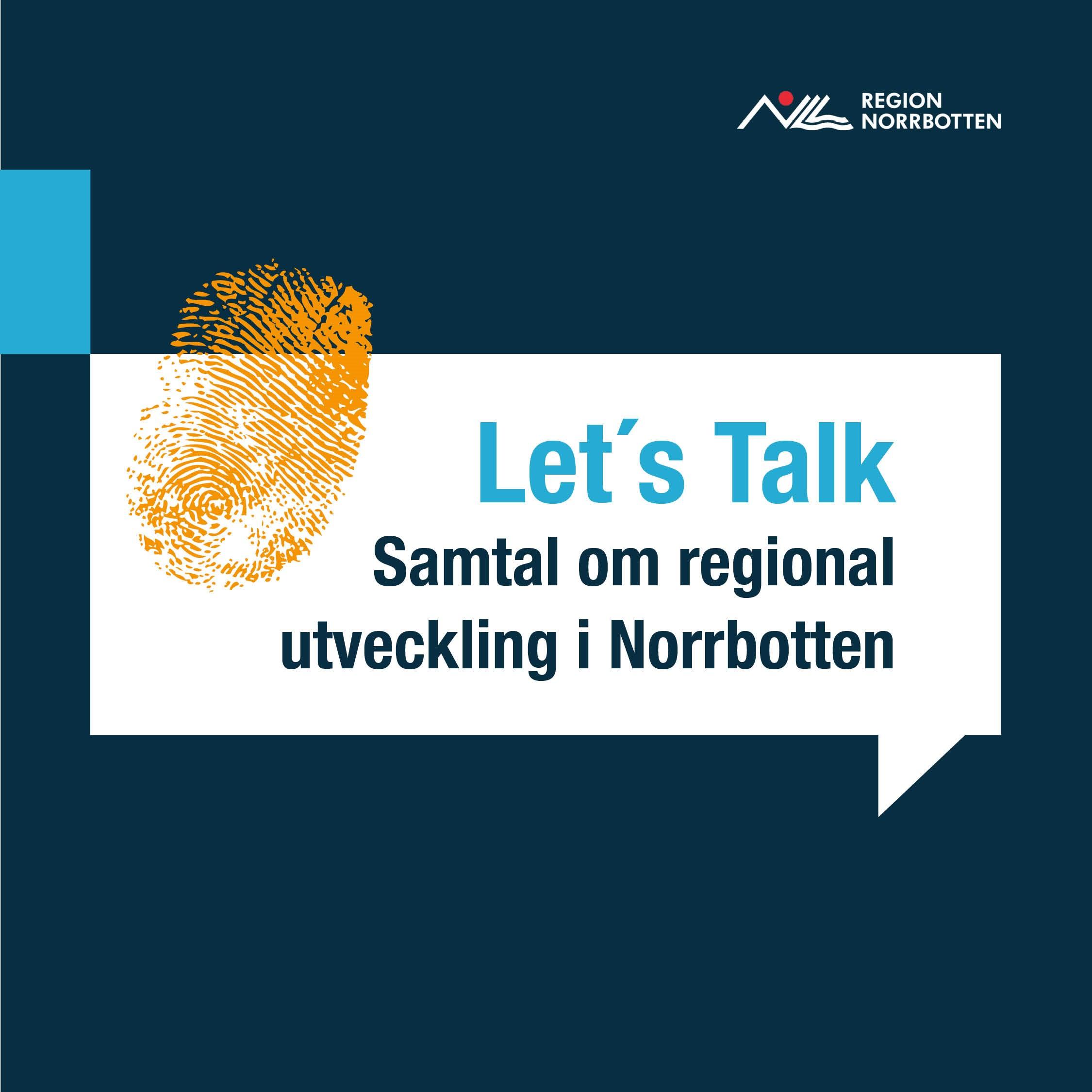Let's Talk Norrbotten show art
