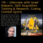 Artwork for 114 – Interview with Israel Halperin, Skill Acquisition Training & Research, Cueing, Combat Sports