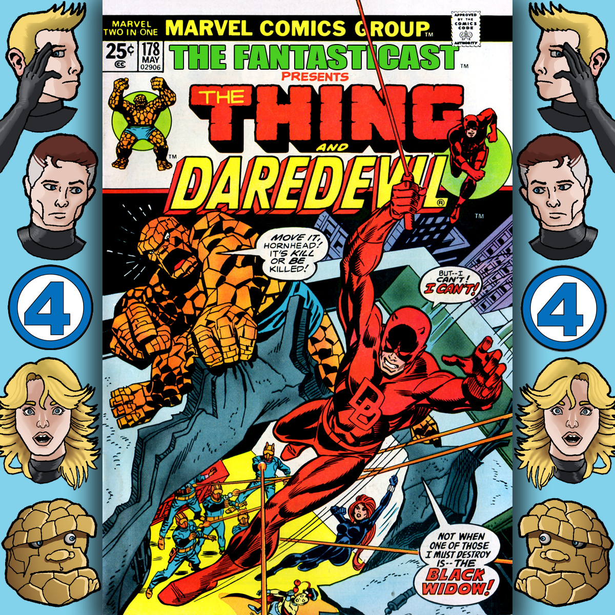 Episode 178: Marvel Two-In-One #3 - Inside Black Spectre