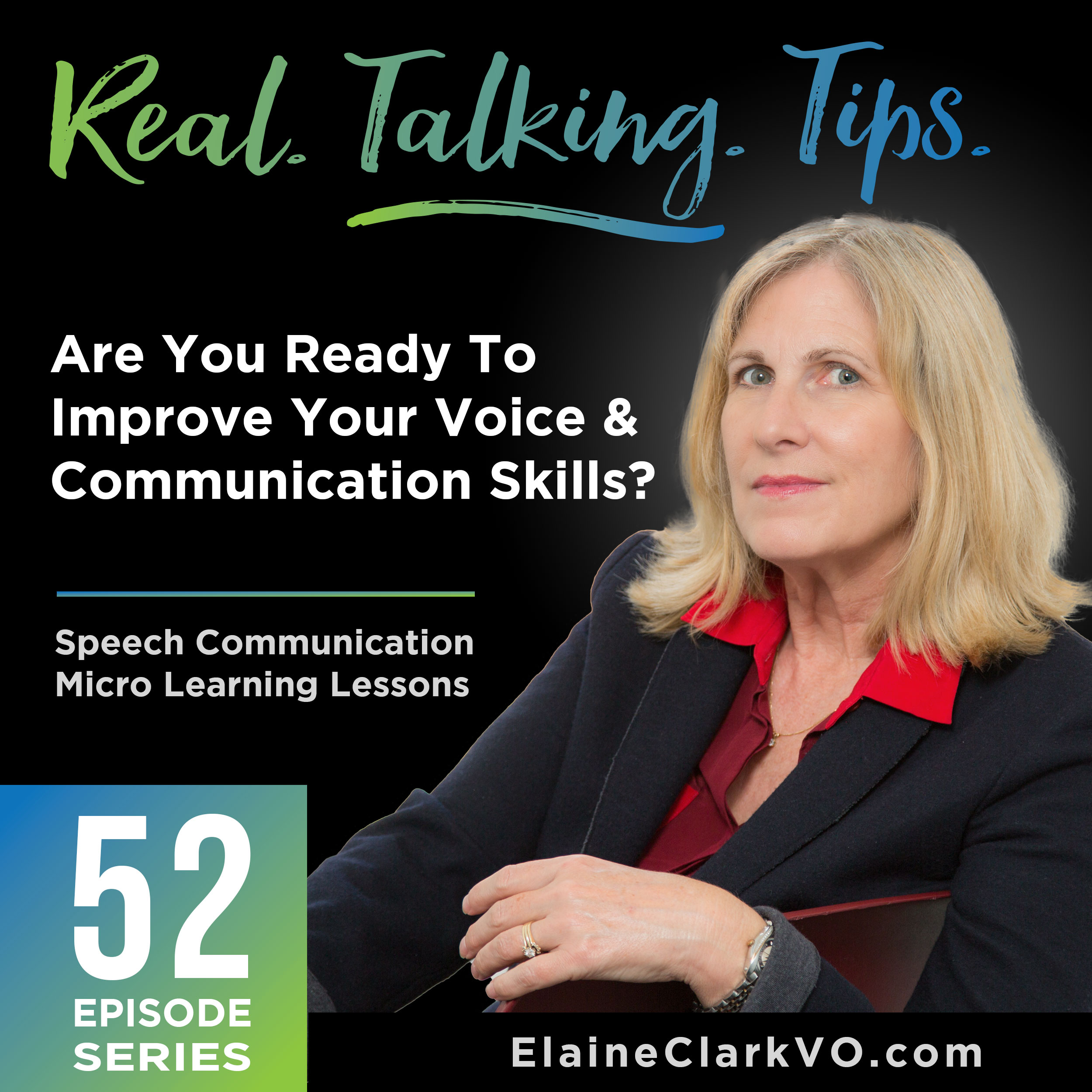 Real Talking Tips with Elaine A. Clark show art