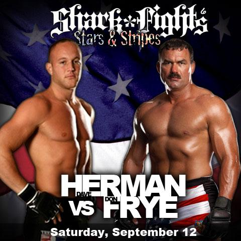 "Dave ""Pee Wee"" Herman and Don Frye. September 10, 2009."