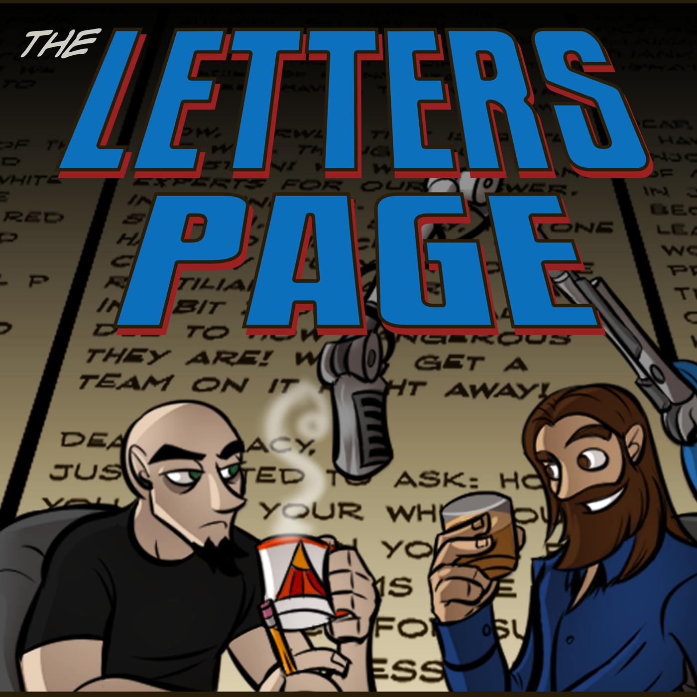 The Letters Page show art
