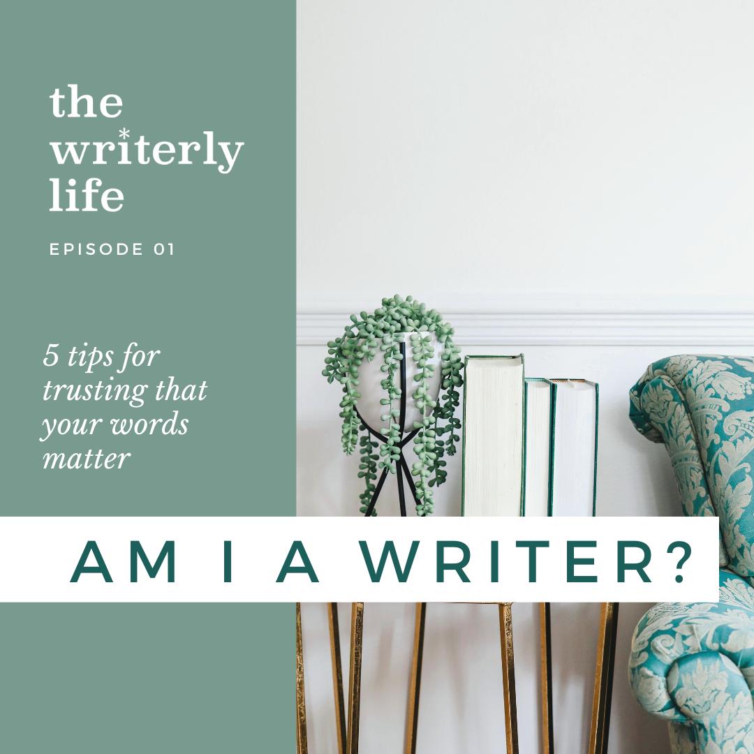 Am I Actually a Writer?