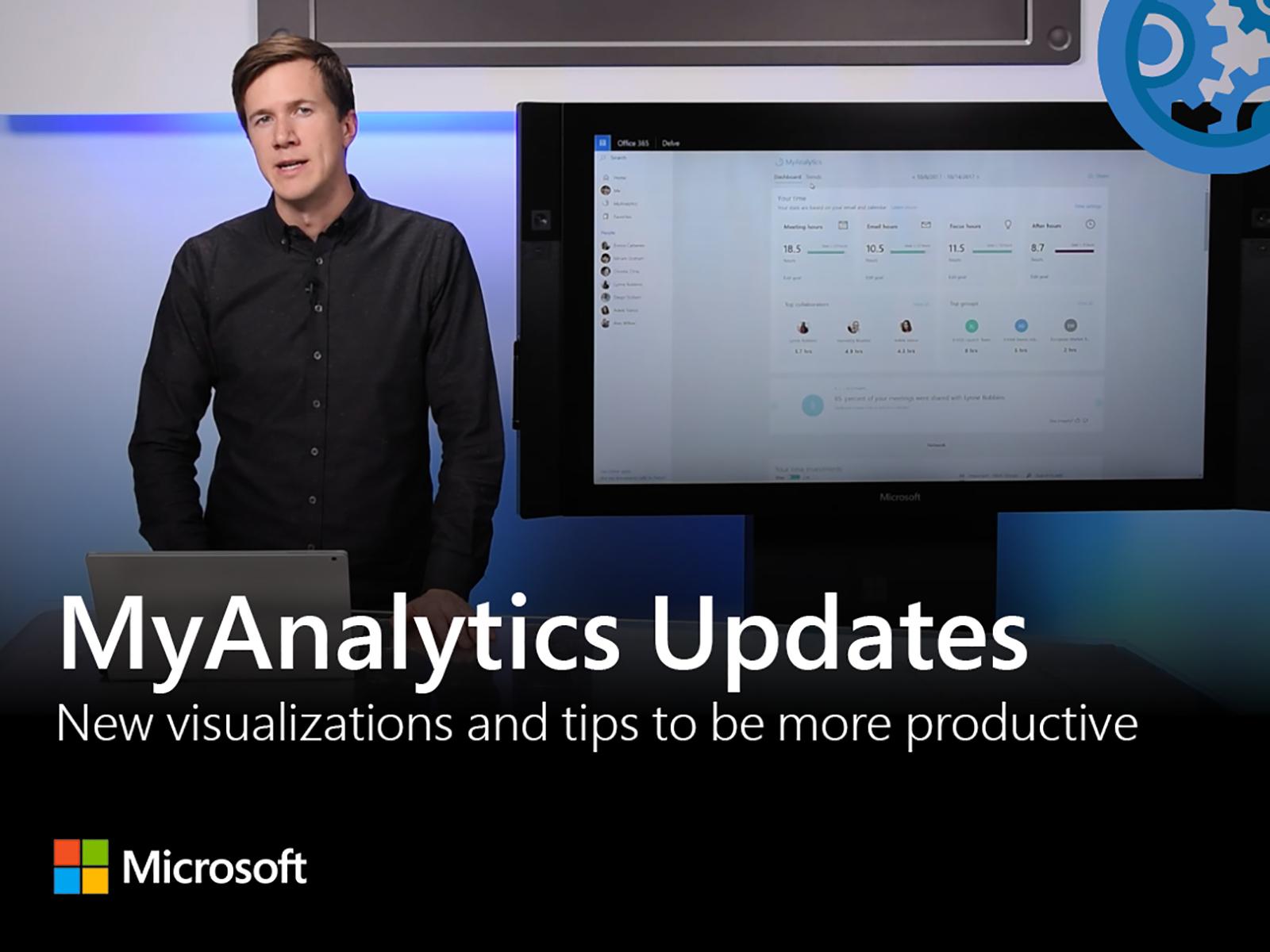 Artwork for Updates to MyAnalytics in Office 365