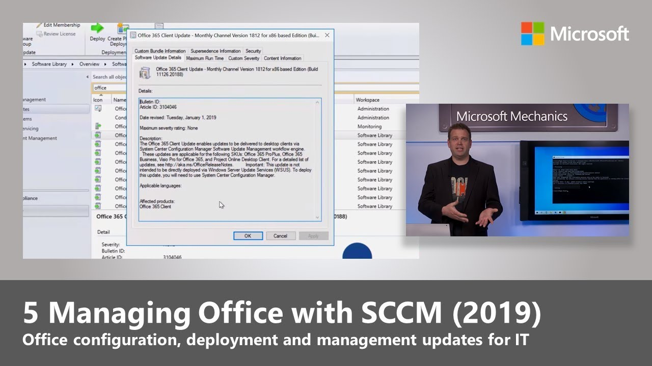Artwork for Managing Office with SCCM (2019)