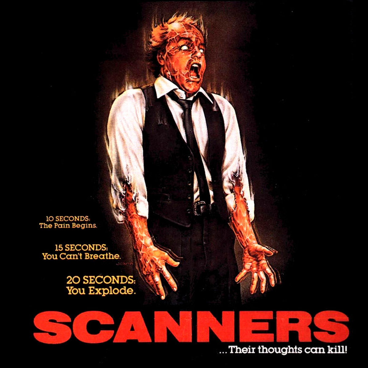 Scanners ISTYA movie review 1981