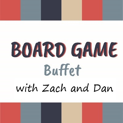 """Artwork for Board Game Buffet Episode 24 """"Epic Games"""""""