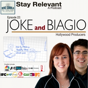 Joke and Biagio on Pitching Your Ideas to Hollywood.