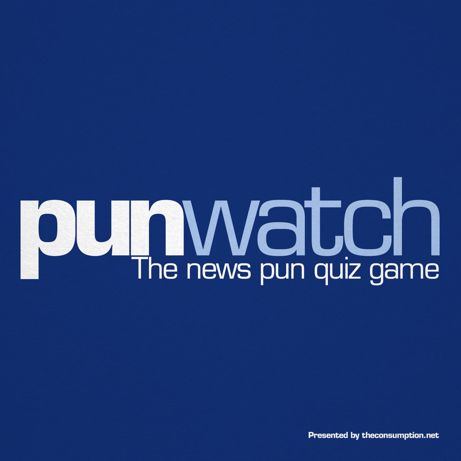 Pun Watch: The News Pun Quiz Game show art