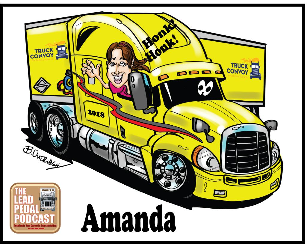 Truck Convoy truck caricatures