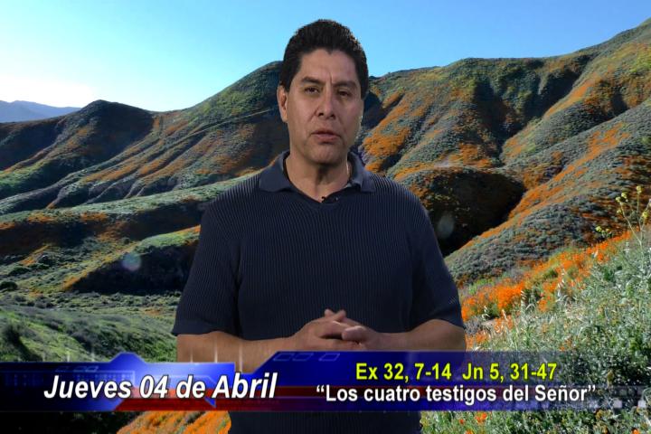 """Artwork for Dios te Habla con Dn. Alfredo Vargas;  Tema el hoy: """"Los cuatro testigos del Señor""""."""