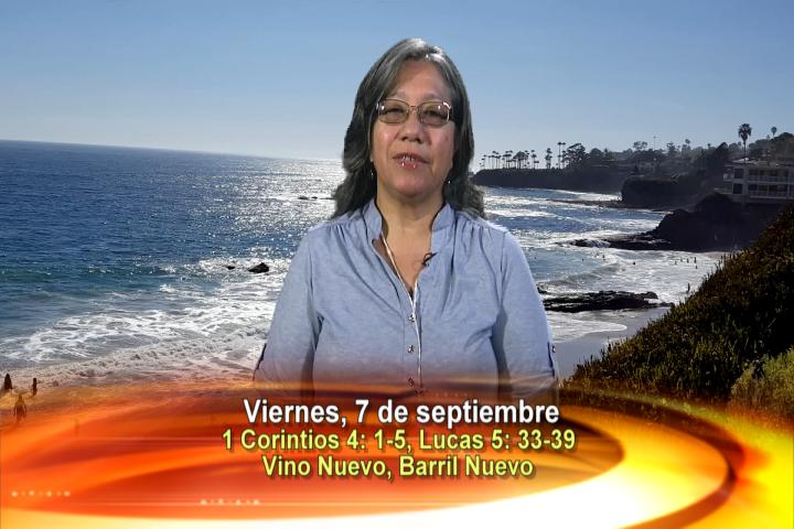 Artwork for Dios te Habla con Lidia Mendoza;   Tema el hoy: VINO NUEVO BARRIL NUEVO